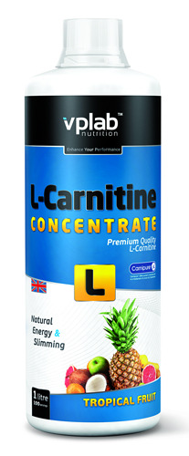 VPlab L-Carnitine concentrate  (500мл)